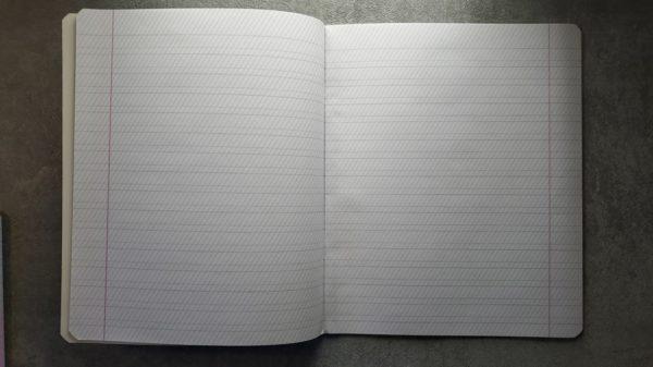 俄文書寫專用筆記本