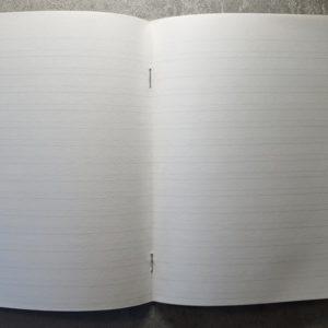 俄文書寫專用筆記本(雙橫線版)